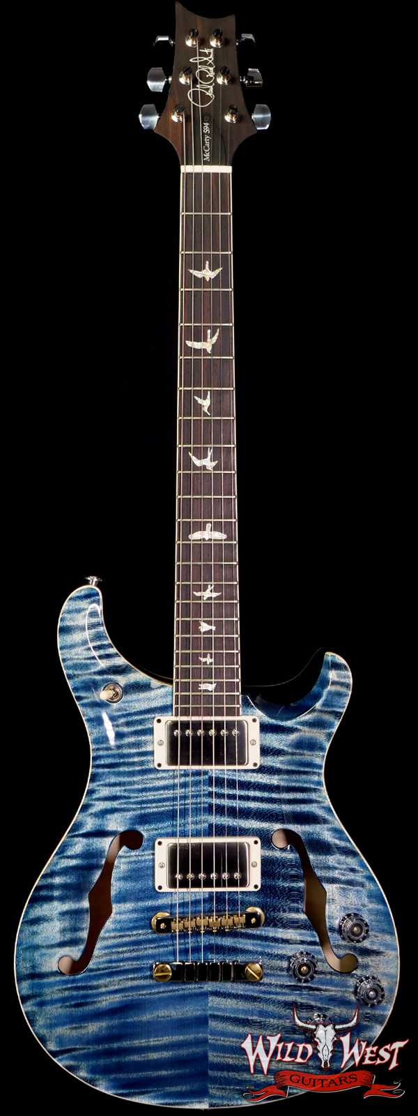 Paul Reed Smith PRS Core McCarty 594 Hollowbody II HB2 Faded Whale Blue
