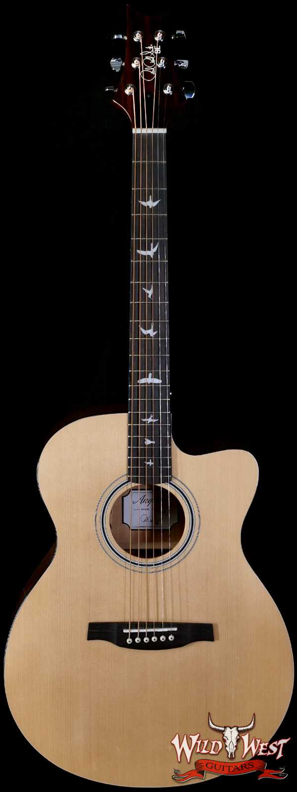 Paul Reed Smith PRS SE AX20E Cutaway Electric-Acoustic Guitar Solid Sitka Spruce Top Mahogany Back & Side