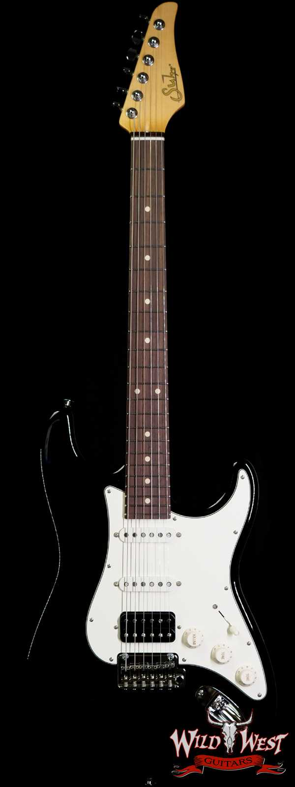 Suhr Classic S HSS Quater-Sawn Maple Neck with Indian Rosewood Board Black
