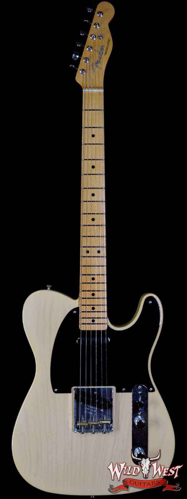 Fender Custom Shop 70th Anniversary Broadcaster NOS Time Capsule Nocaster Blonde Hand-Wound Pickups R106070