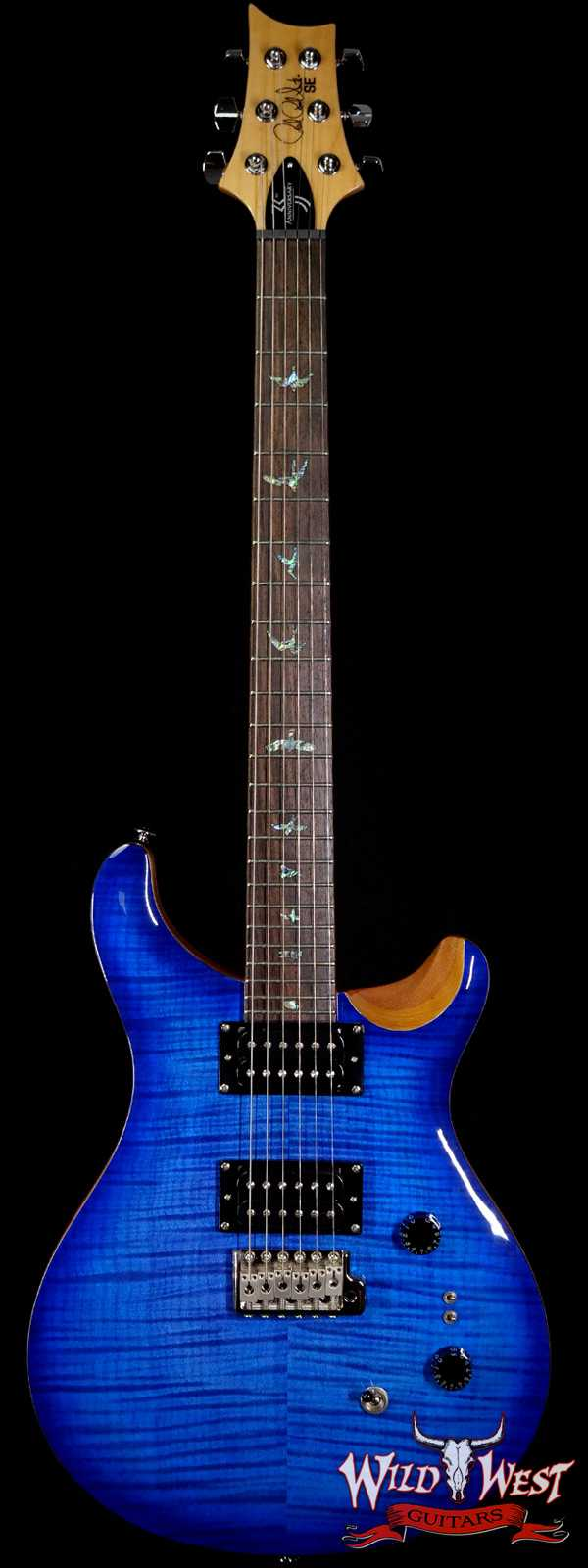 Paul Reed Smith PRS 35th Anniversary SE Custom 24 Faded Blue Burst C19981