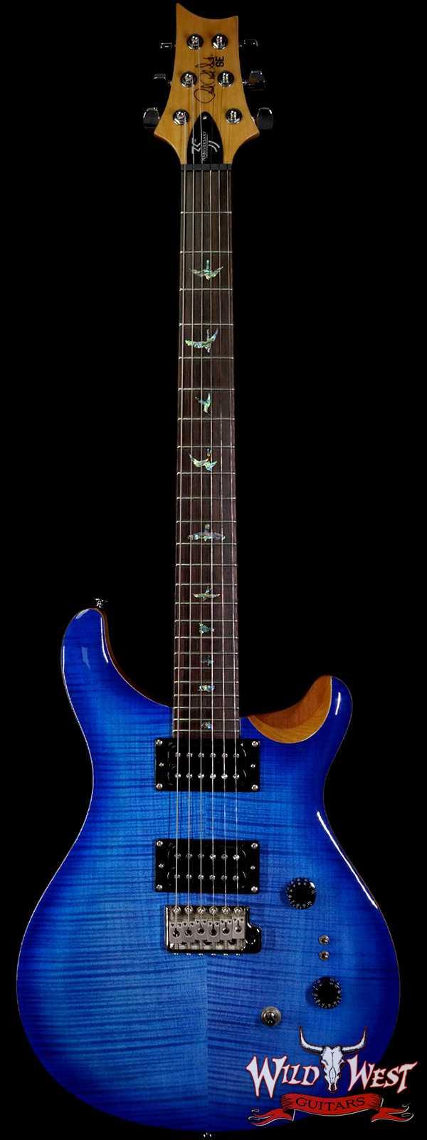 Paul Reed Smith PRS 35th Anniversary SE Custom 24 Faded Blue Burst C15305
