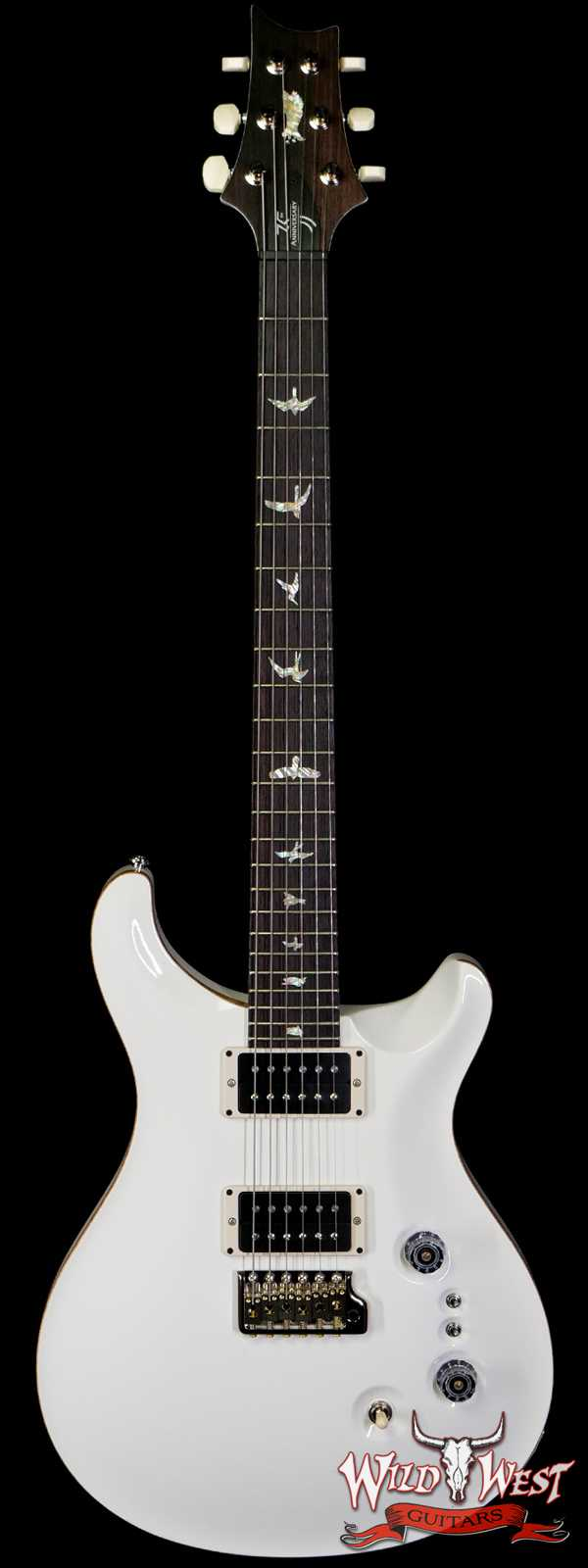 Paul Reed Smith PRS 35th Anniversary Custom 24 Antique White