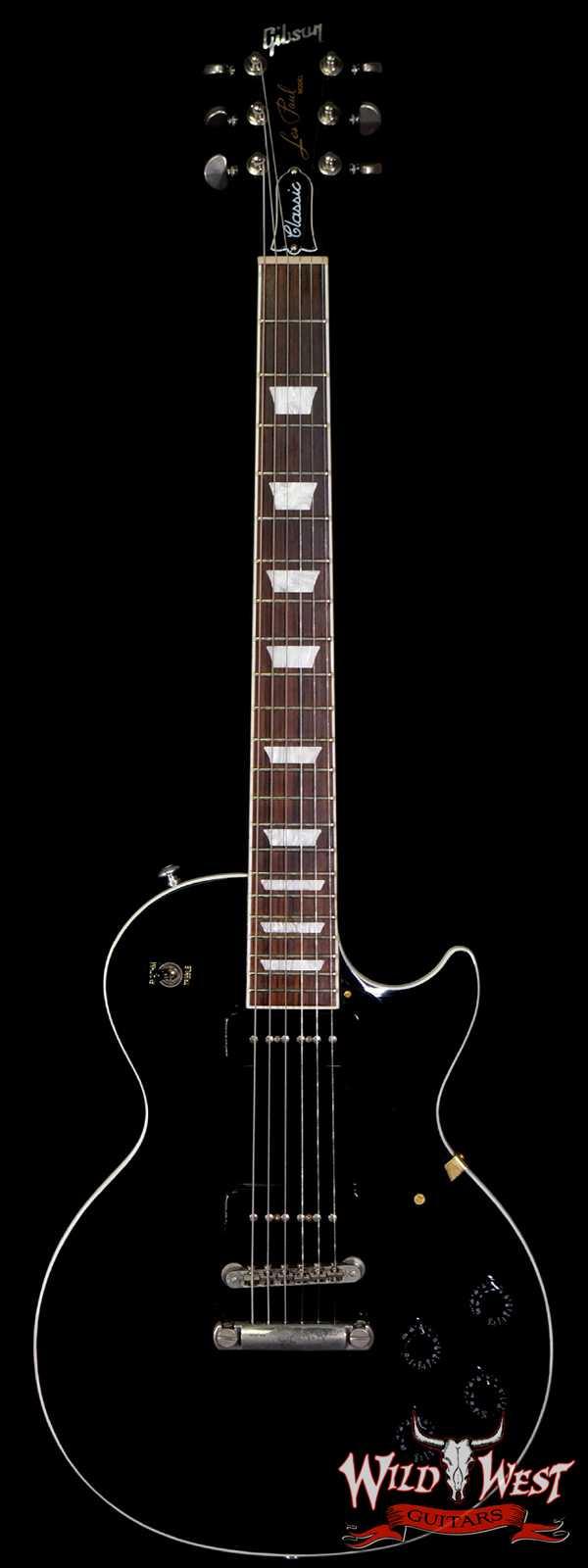 2018 Gibson Les Paul Classic P90 Black