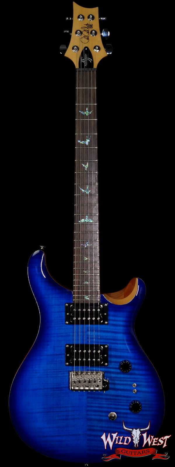 Paul Reed Smith PRS 35th Anniversary SE Custom 24 Faded Blue Burst C19546