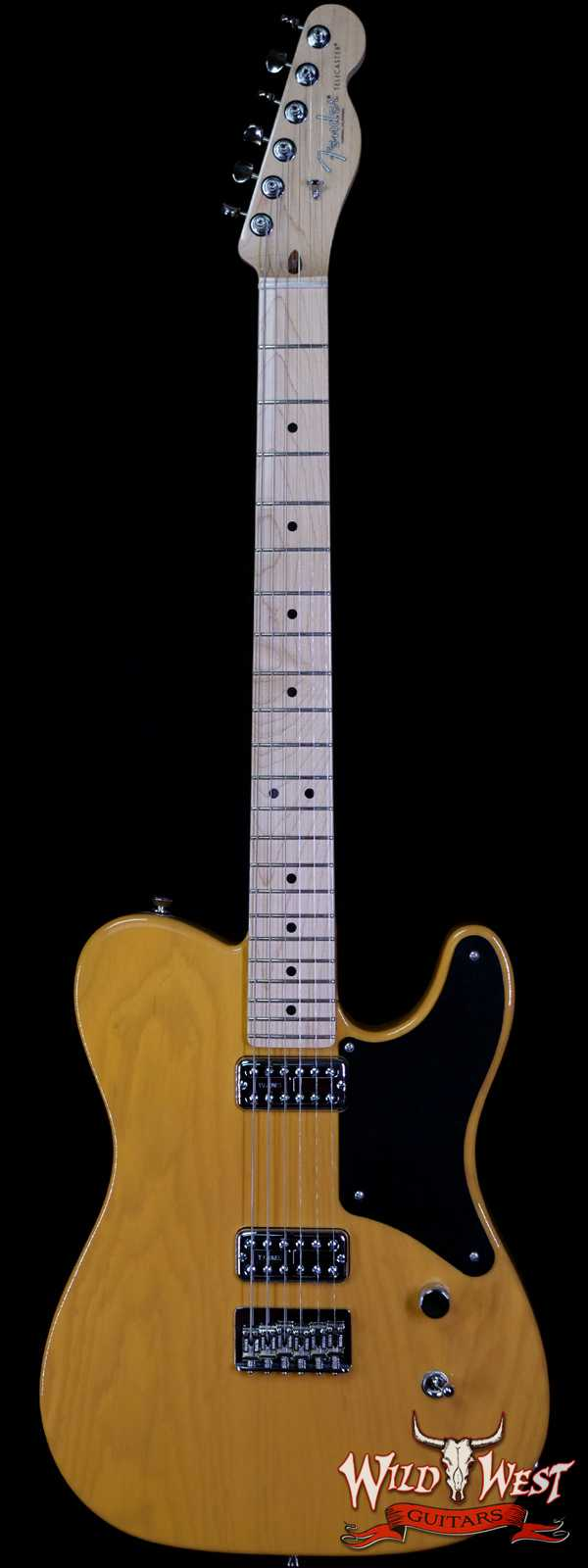 Fender USA Limited Edition Cabronita Telecaster Maple Neck TV Jones Classic Butterscotch Blonde LE09005