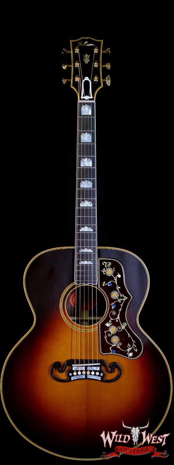 Gibson Custom Shop Historic Pre-War SJ-200 Rosewood Vintage Sunburst