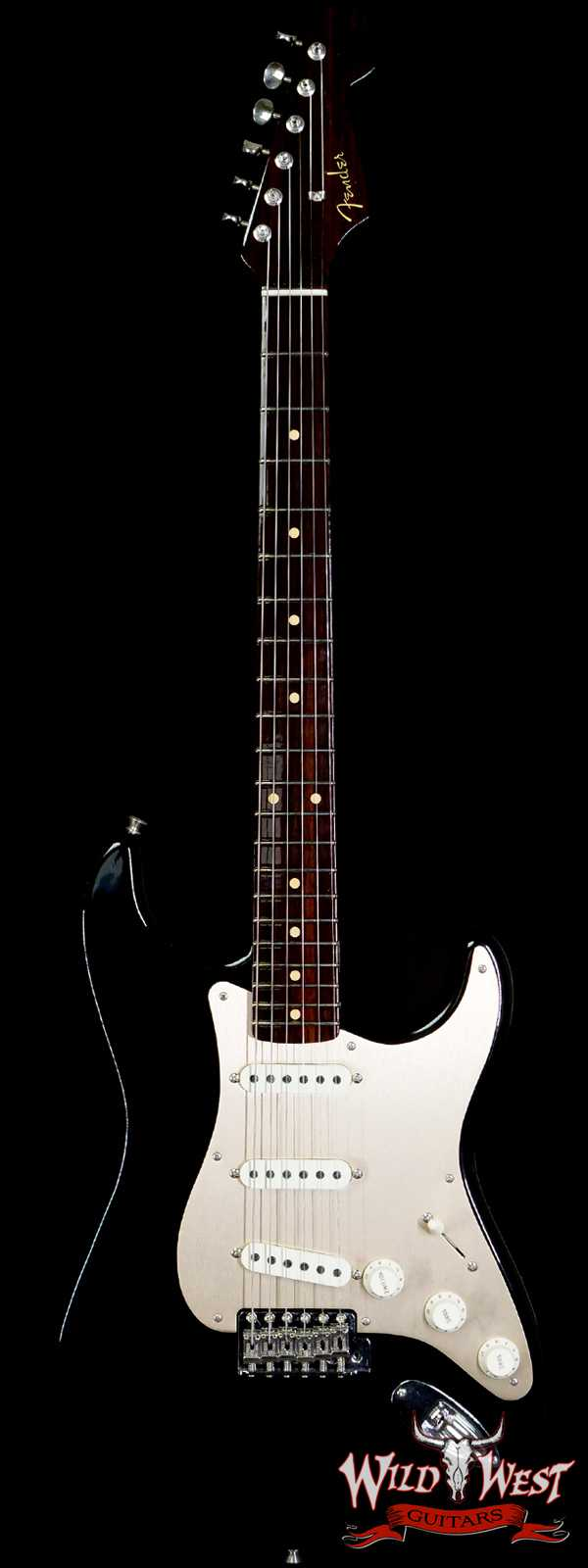 2020 Fender Summer Event LTD Custom Shop 1957 Stratocaster Rosewood Neck Deluxe Closet Classic Hand-Wound PUs Black