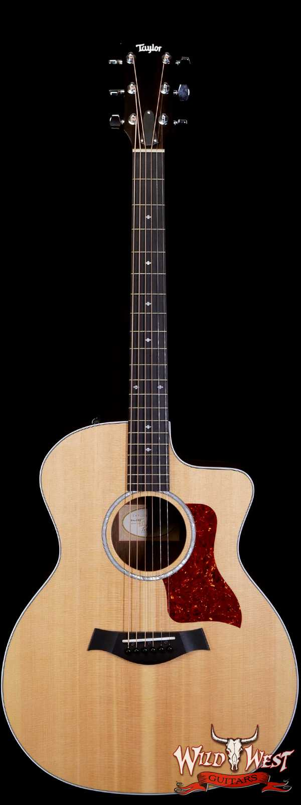 2018 Taylor 214CE DLX Electric-Acoustic Guitar Natural