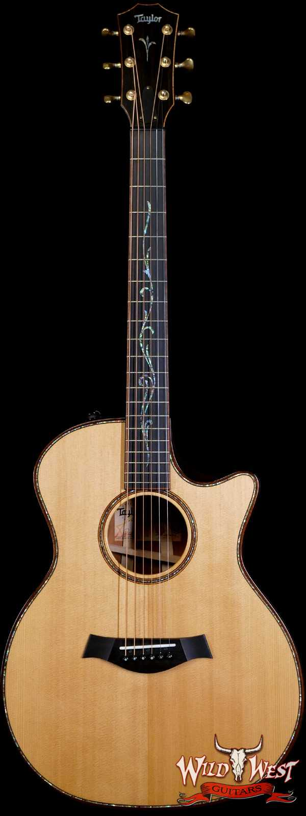 2018 Taylor Builder's Edition K14ce Electric-Acoustic Guitar Kona Burst