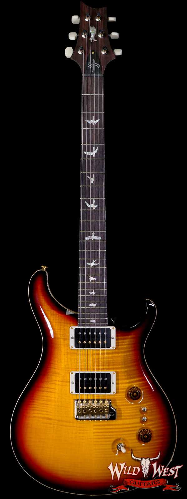Paul Reed Smith PRS 10 Top 35th Anniversary Custom 24 Tri-Color Sunburst