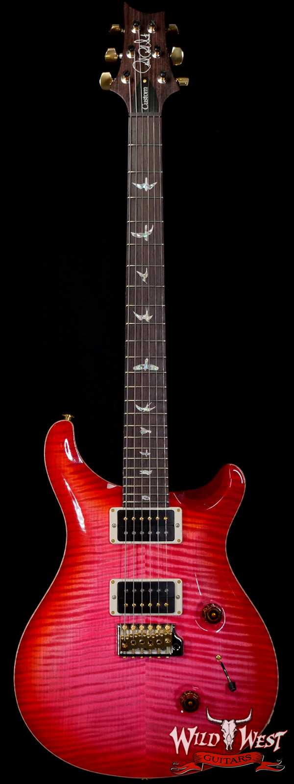 Paul Reed Smith PRS Core 10 Top Custom 24 Bonnie Pink Cherry Burst
