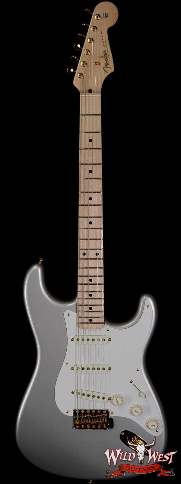 Fender Custom Shop 1956 Stratocaster NOS Ash Body Quatersawn Maple Neck Hand-Wound Pickups Inca Silver