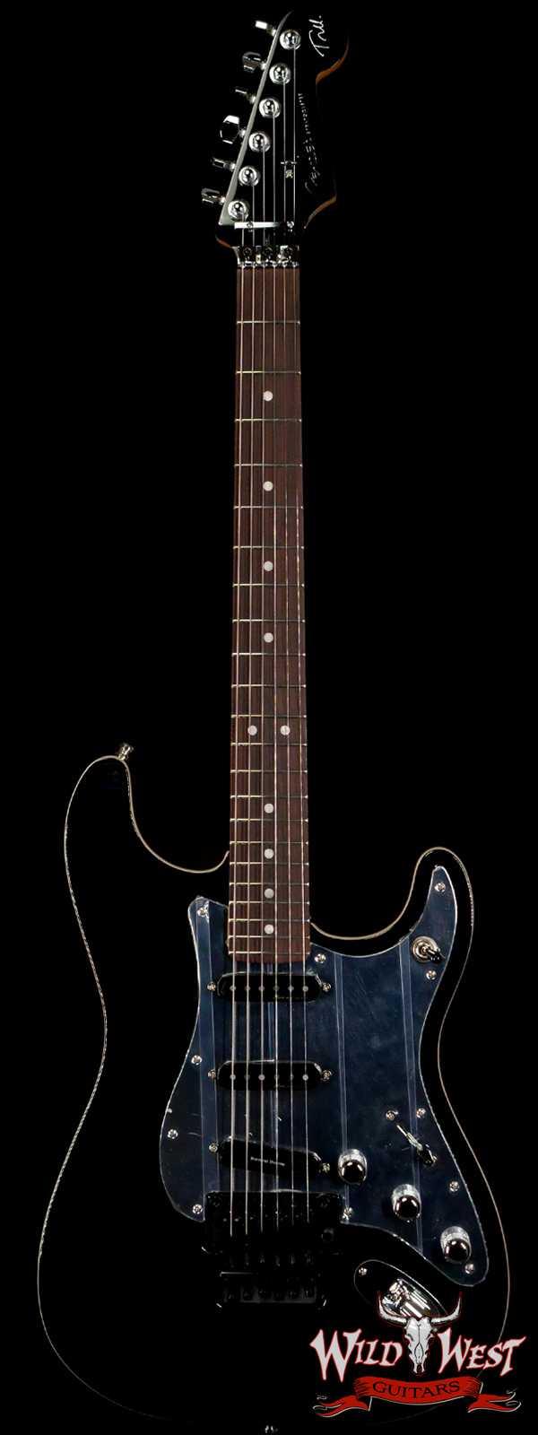 "Fender Tom Morello ""Soul Power"" Stratocaster Floyd Rose Rosewood Fingerboard Black"