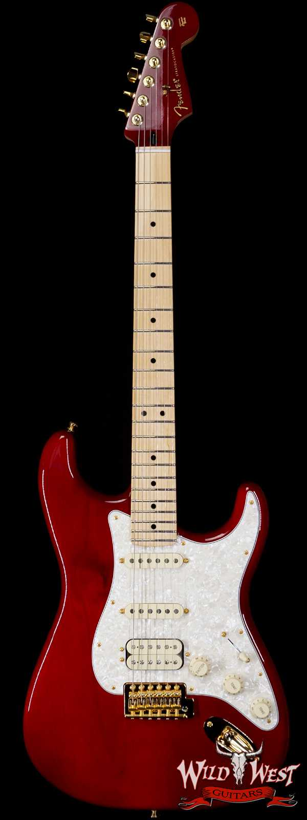 Fender Tash Sultana HSS Stratocaster Transparent Cherry