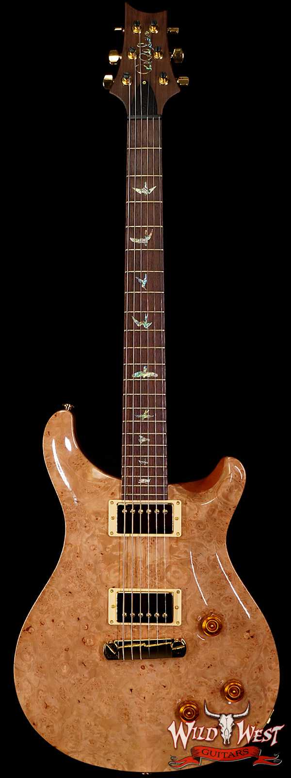 2005 Paul Reed Smith 20th Anniversary Artist Package Custom 22 Burl Maple Top Natural