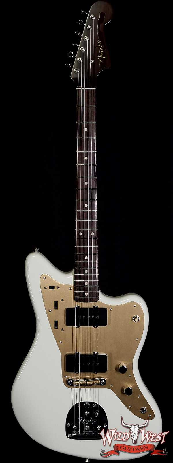 Fender Custom Shop Dennis Galuszka Masterbuilt 1958 Jazzmaster Brazilian Rosewood Neck Lush Closet Classic India Ivory