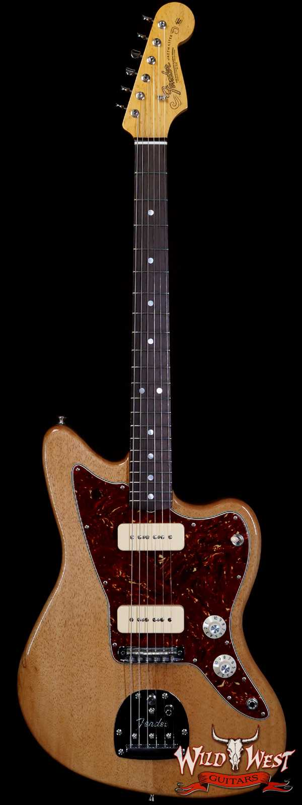 Fender Custom Shop Chris Fleming Masterbuilt P-90 Korina Jazzmaster NOS Brazilian Rosewood Fingerboard Natural