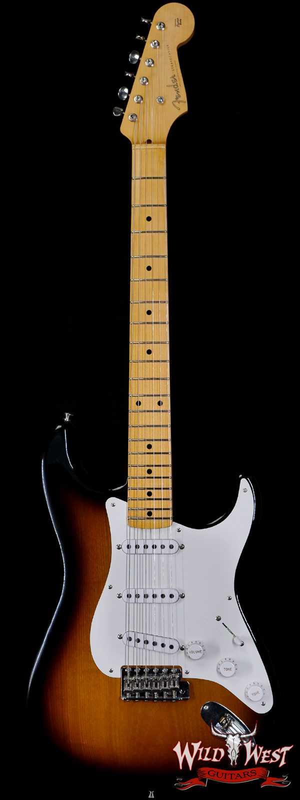 Fender Custom Shop Chris Fleming Masterbuilt 1954 Stratocaster Closet Classic 2 Tone Sunburst Josefina Hand-Wound Pikcups