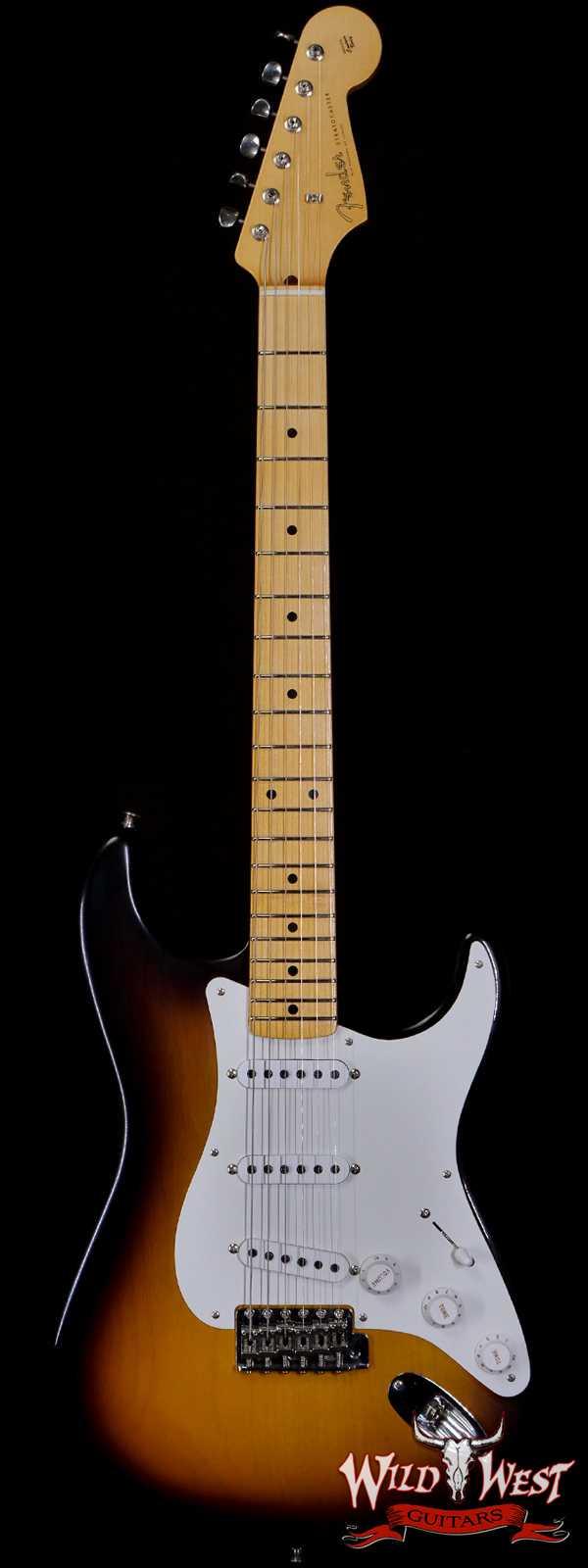 Fender Custom Shop Chris Fleming Masterbuilt 1956 Stratocaster Closet Classic 11/56 Neck 2 Tone Sunburst Loretta Hand-Wound Pikcups