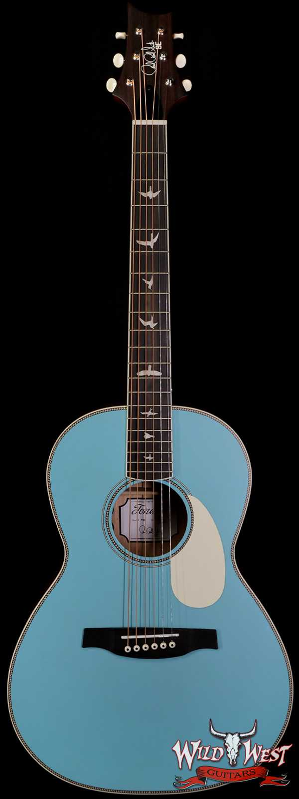 Paul Reed Smith PRS SE P20E Eletric-Acoustic Guitar Mahogany Ebony Fingerboard Powder Blue