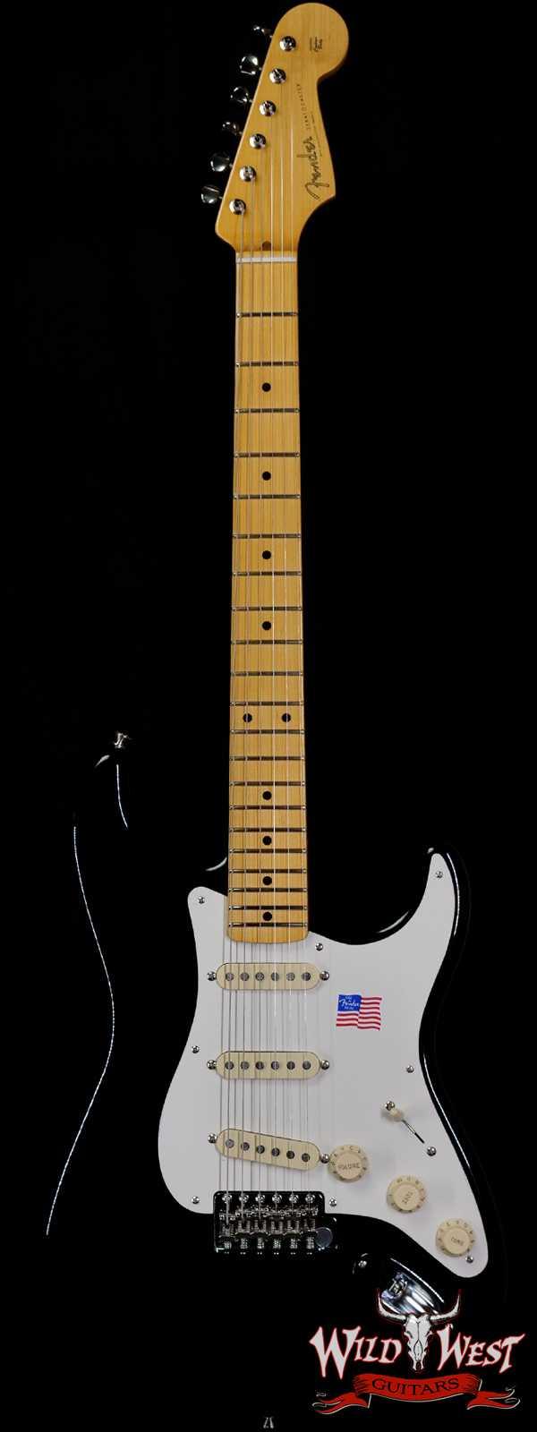 Fender USA Eric Johnson Stratocaster Maple Fingerboard Black