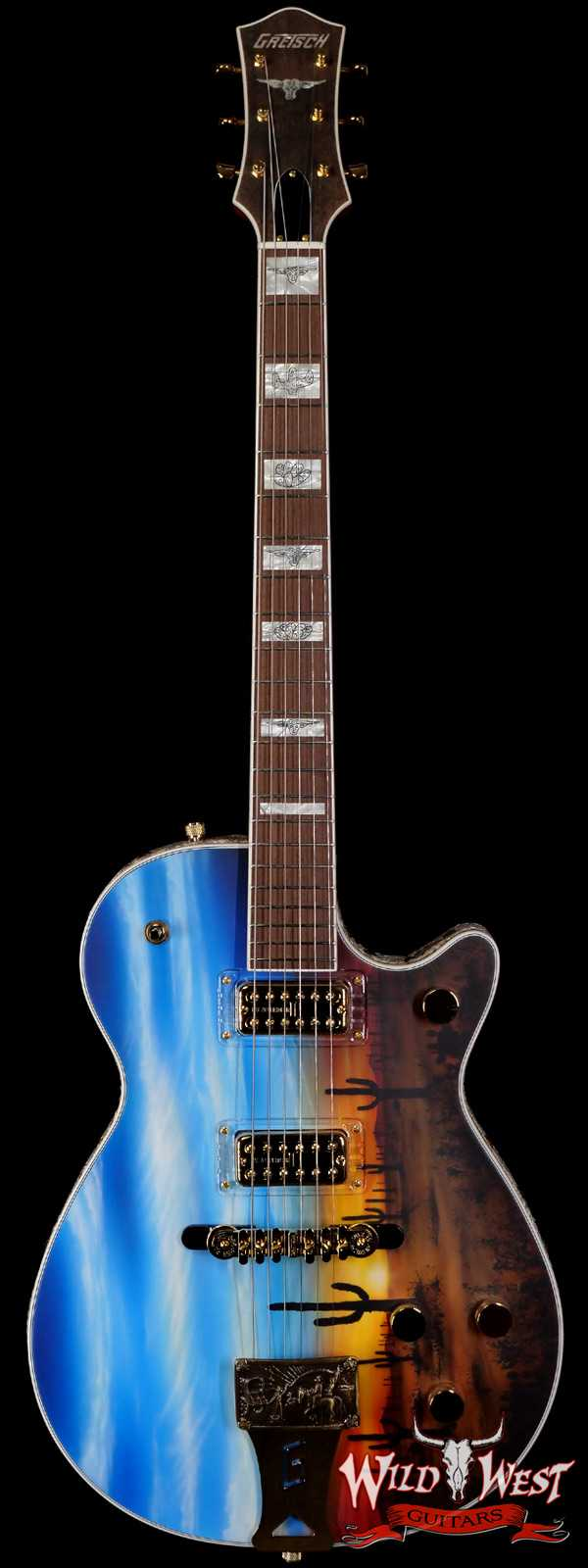 Gretsch USA Custom Shop Stephen Stern Masterbuilt G6130 with Filter Tron Pickups Sunset Roundup