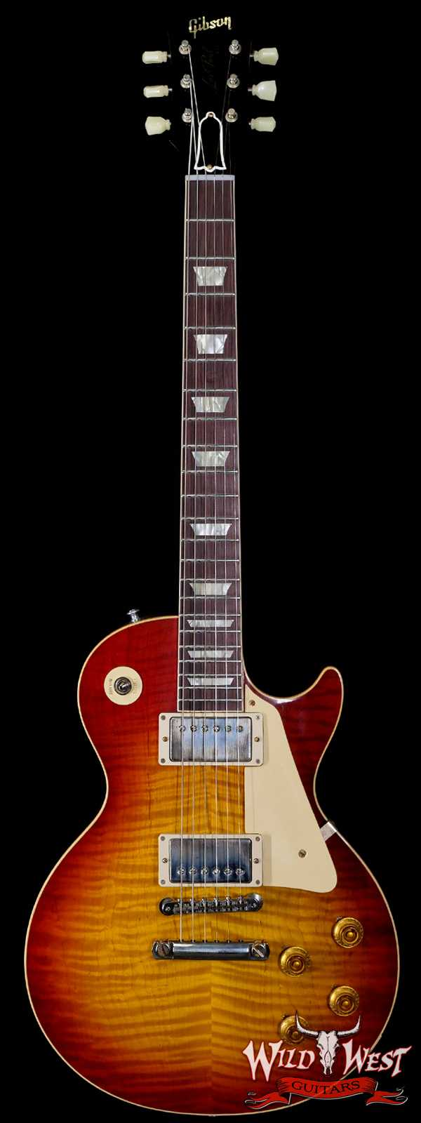 Gibson Custom Shop 60th Anniversary 1960 Les Paul Standard VOS V1 Antiquty Burst 8.75 LBS