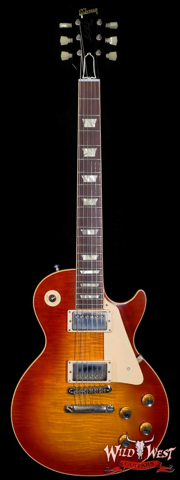 Gibson Custom Shop 60th Anniversary 1960 Les Paul Standard VOS V3 Wide Tomato Burst 9.00 LBS