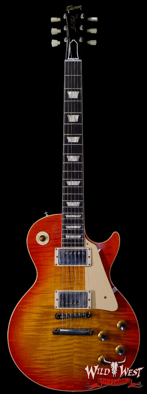 Gibson Custom Shop 60th Anniversary 1960 Les Paul Standard VOS V2 Orange Lemon Fade 8.35 LBS