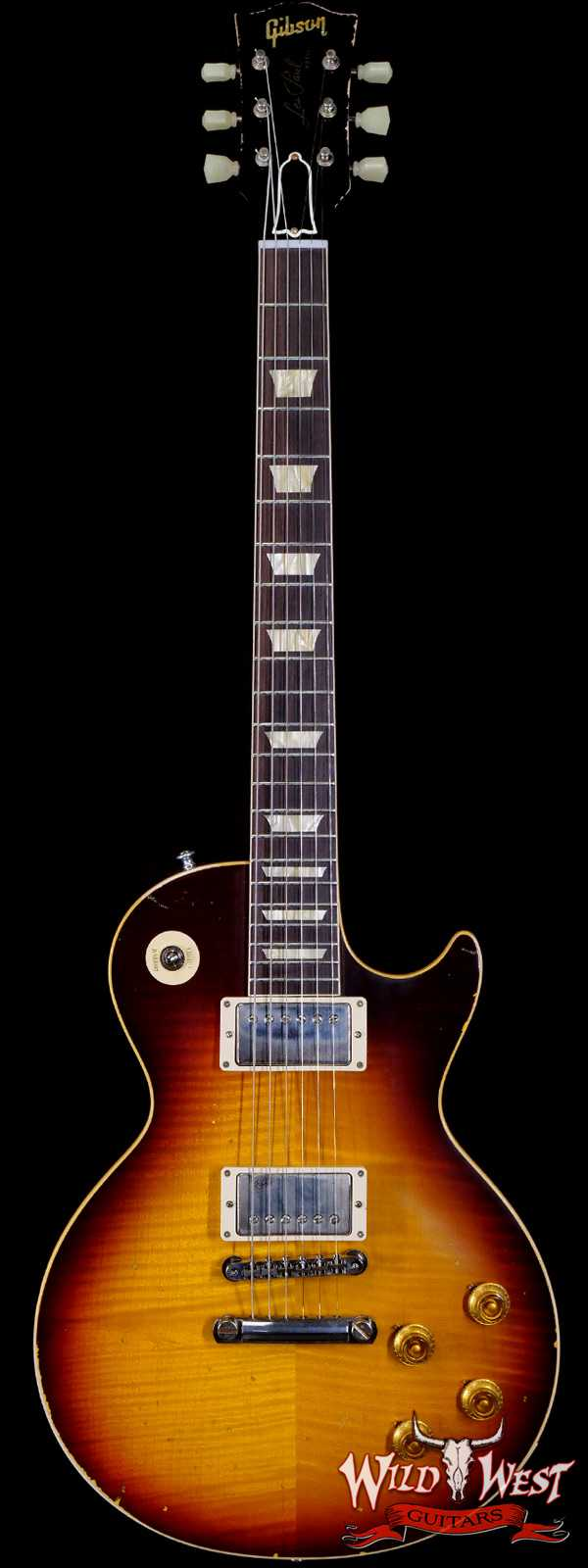 Gibson Custom Shop M2M Hand Selected Top 60th Anniversary 1959 Les Paul Standard Murphy Aged Southern Fade 8.60 lbs