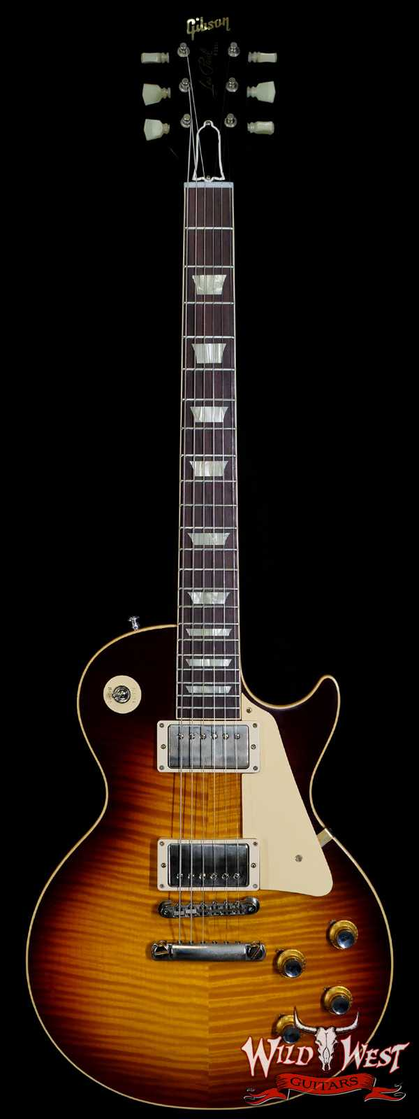 Gibson Custom Shop 60th Anniversary 1960 Les Paul Standard VOS V3 Washed Bourbon Burst