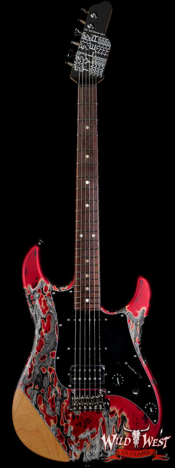 James Tyler USA Studio Elite Burning Water 2K with Arm Contour Rosewood Fingerboard Midboost Preamp
