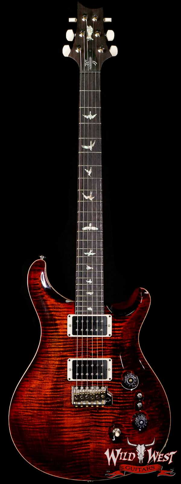 Paul Reed Smith PRS Core 35th Anniversary Custom 24 Orange Tiger