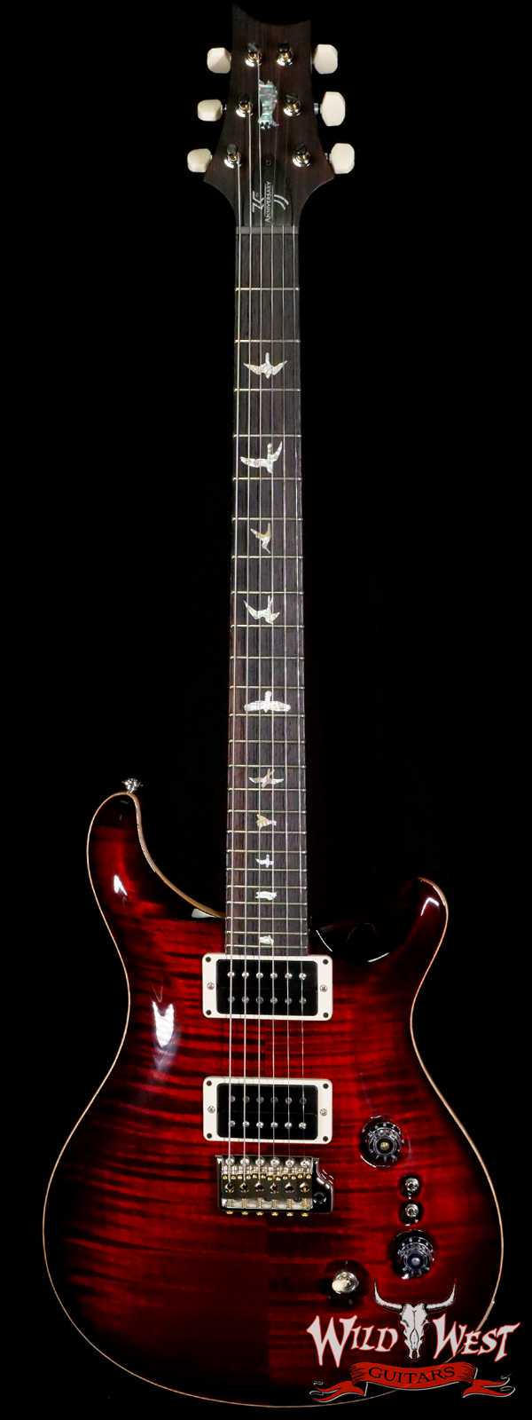 Paul Reed Smith PRS Core 35th Anniversary Custom 24 Fire Red Burst