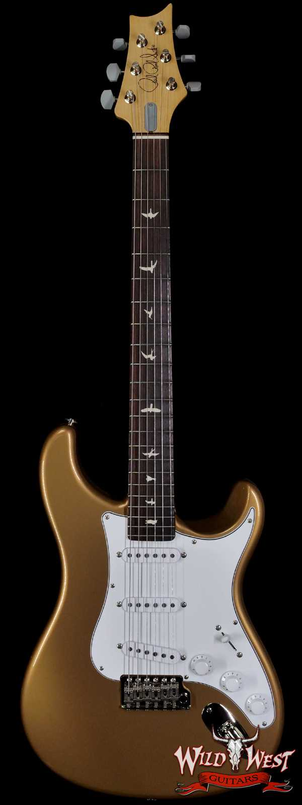Paul Reed Smith PRS John Mayer Signature Model Silver Sky Rosewood Fingerboard Golden Mesa