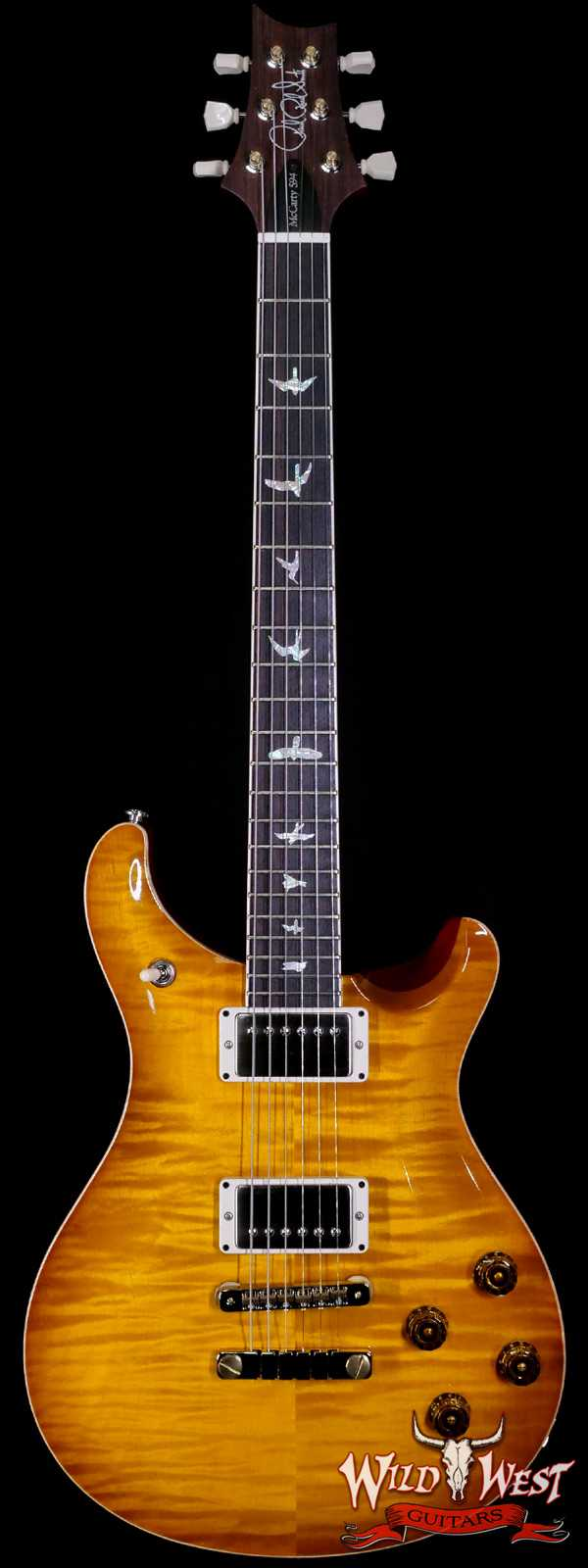 Paul Reed Smith PRS Core McCarty 594 Flame Maple Top Rosewood Fingerboard McCarty Sunburst