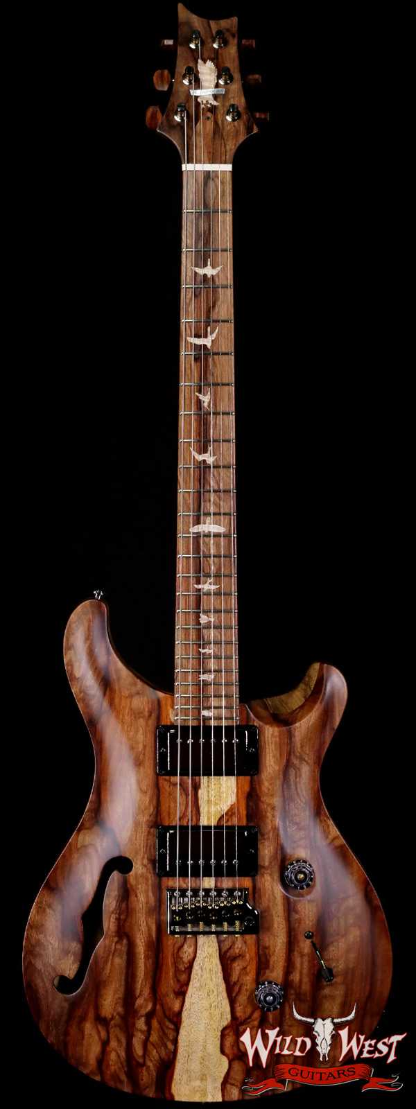 PRS 2021 Winter NAMM Special Private Stock # 9394 Custom 24 Semi-Hollow Hormigo Top and Fingerboard Natural