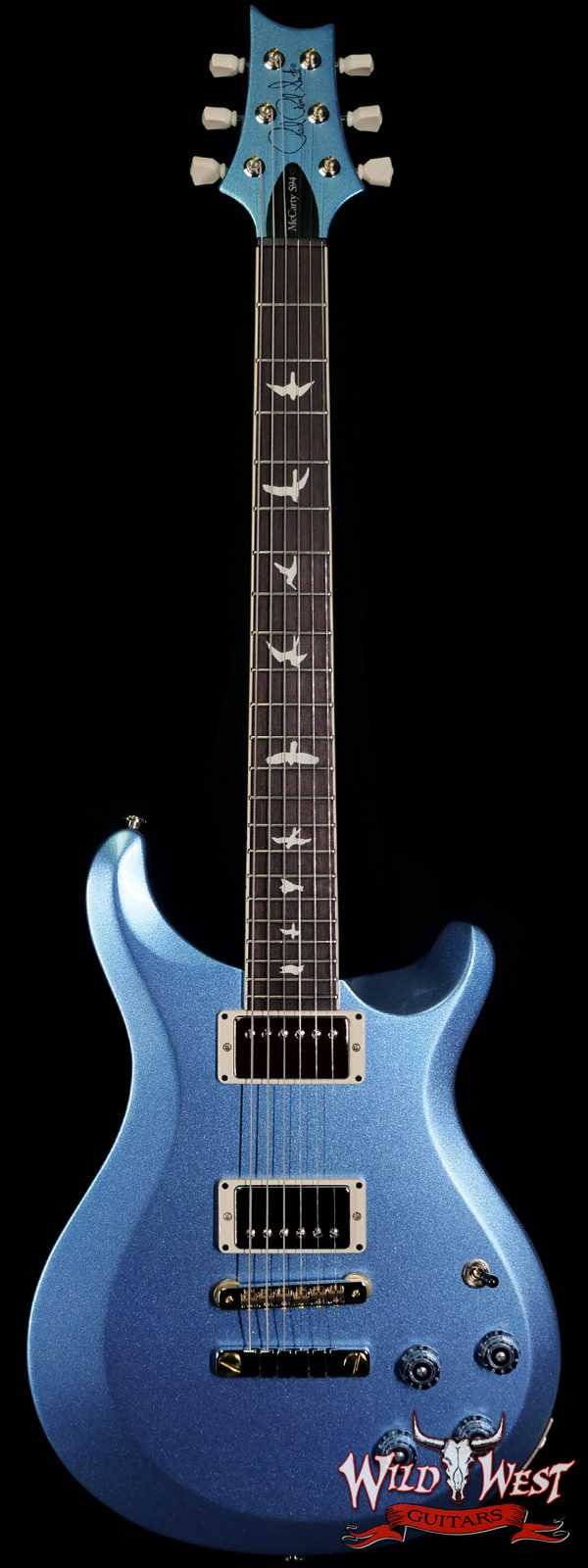 Paul Reed Smith PRS S2 McCarty 594 Thinline Frost Blue Metallic