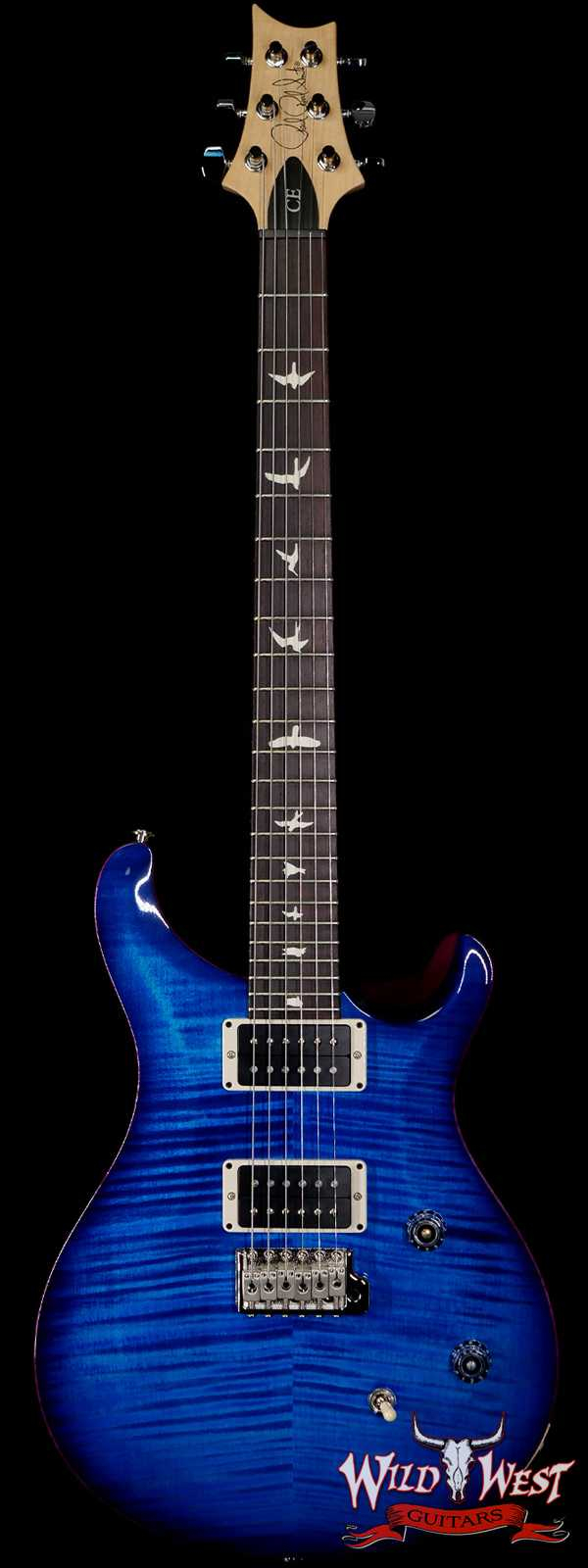 Paul Reed Smith PRS CE 24 Rosewood Fingerboard Blue Matteo Wrap Burst
