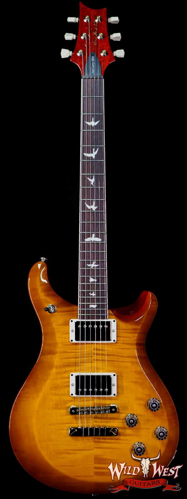 Paul Reed Smith PRS S2 McCarty 594 Flame Maple Top McCarty Sunburst
