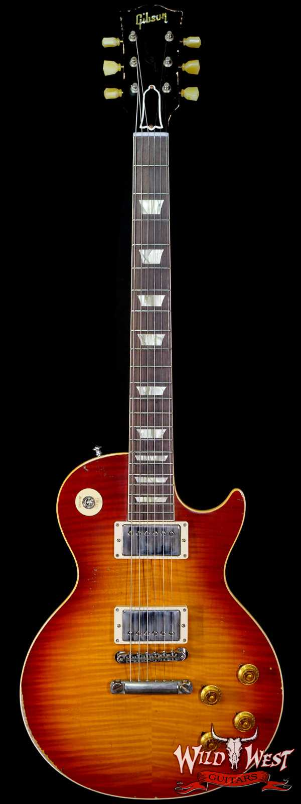 "Gibson Custom Shop M2M Hand Selected Top 1958 Les Paul Murphy Lab Heavy Aging ""First Standard"" 7.85 lbs"