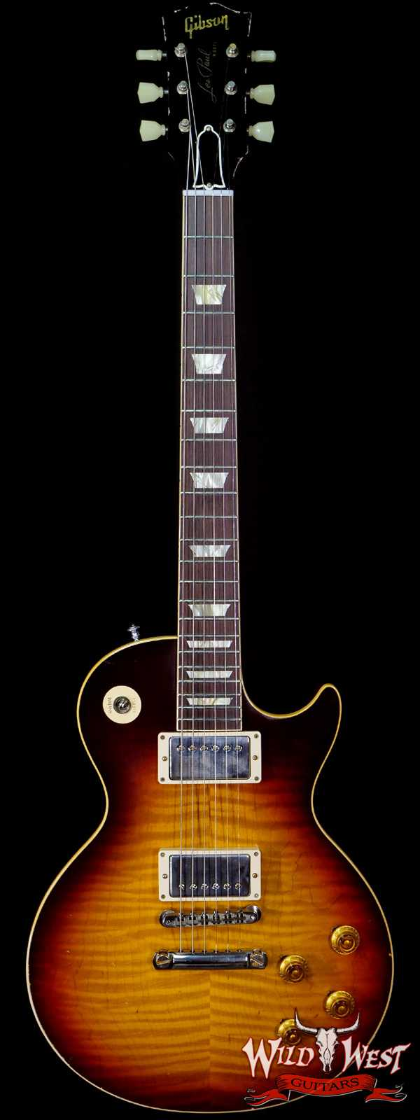 Gibson Custom Shop M2M Hand Selected Top 60th Anniversary 1959 Les Paul Murphy Lab Light Aged Southern Fade 8.20 lbs