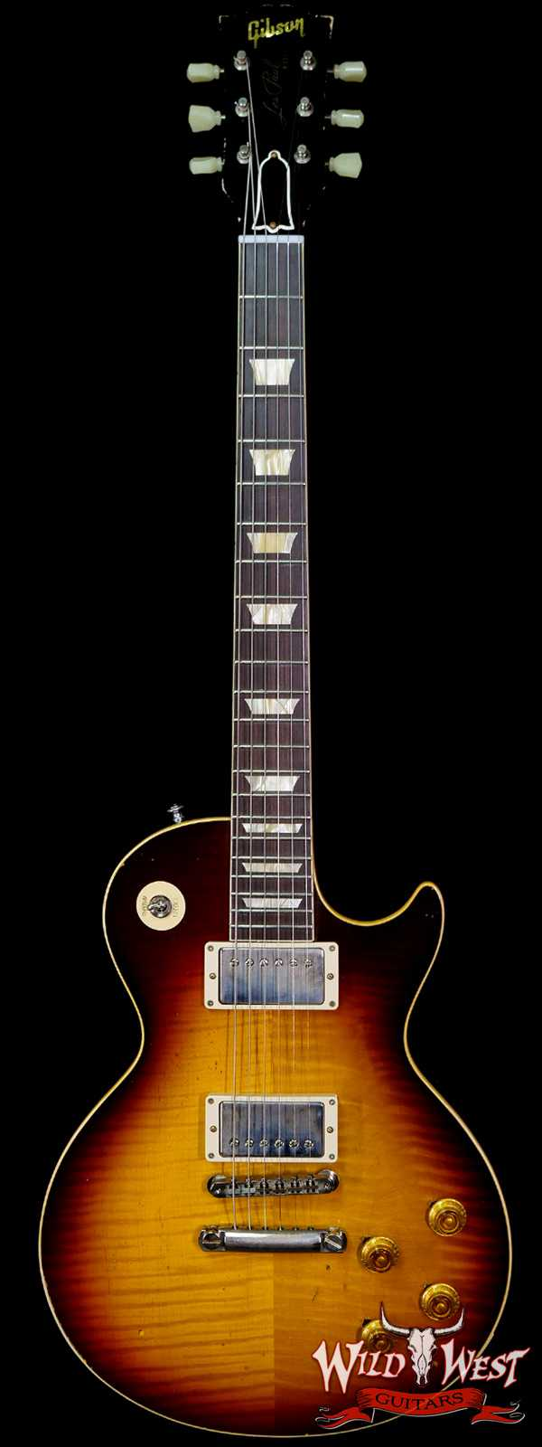 Gibson Custom Shop M2M Hand Selected Top 60th Anniversary 1959 Les Paul Murphy Lab Light Aged Southern Fade 8.35 lbs