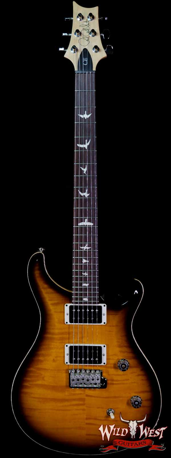 Paul Reed Smith PRS CE 24 Rosewood Fingerboard Vintage Smokeburst 7.70 LBS