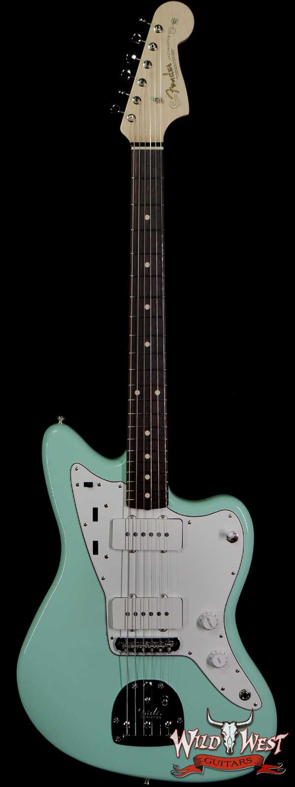 Fender Custom Shop Envy Collection 1965 Jazzmaster NOS Surf Green Apprentice Built By Nick Saccon(One of A Kind)