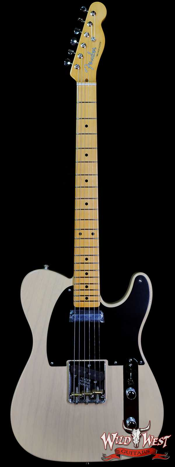 Fender USA 70th Anniversary Broadcaster Maple Fingerboard Blackguard Blonde V2095881