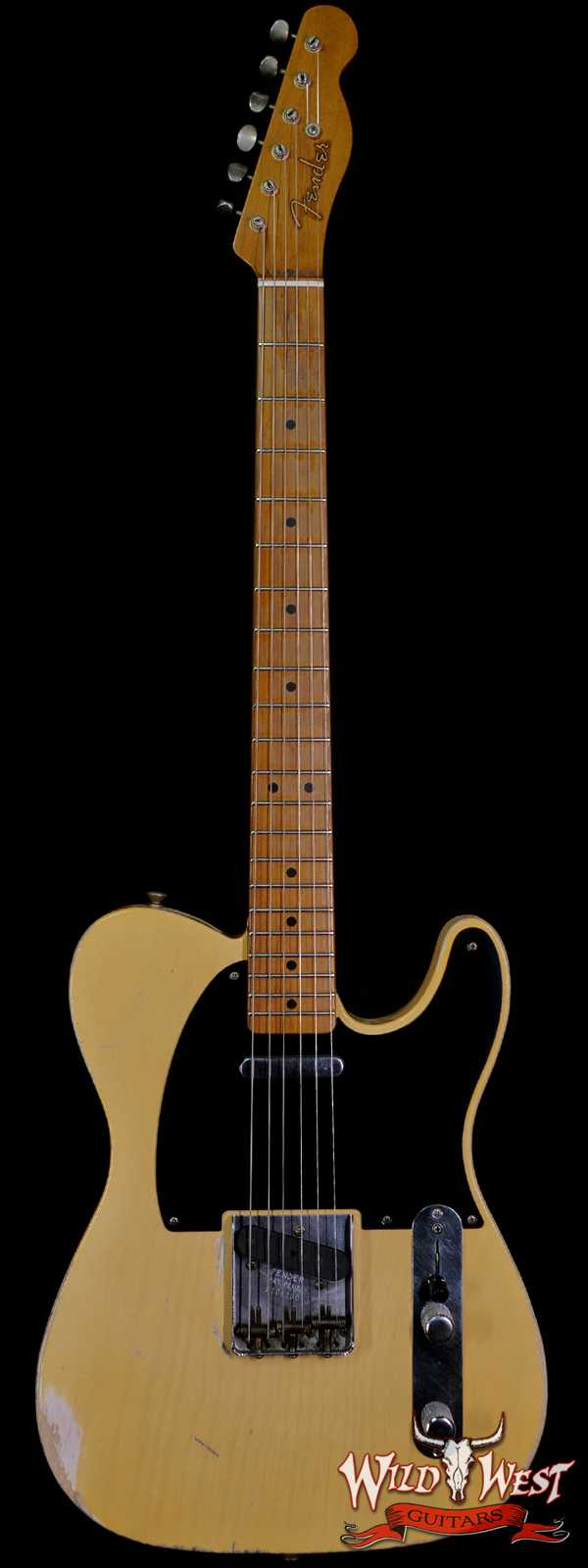 Fender Custom Shop Todd Krause Masterbuilt 1951 Nocaster Relic Roasted Maple Neck Hand-Wound Pickups Blonde