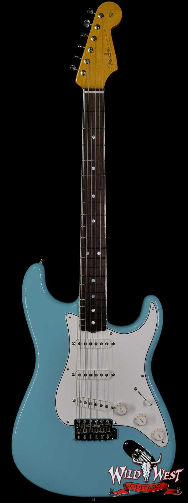 Fender USA Eric Johnson Stratocaster Rosewood Fingerboard Tropical Turquoise