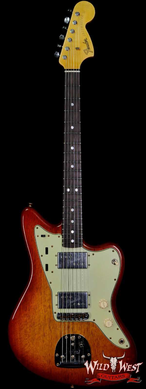 Fender Custom Shop Ron Thorn Masterbuilt 70's Korina Jazzmaster Journeyman Relic Tobacco Sunburst